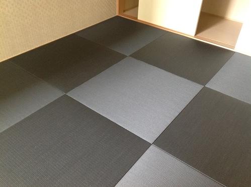 カラー和紙琉球畳施工画像