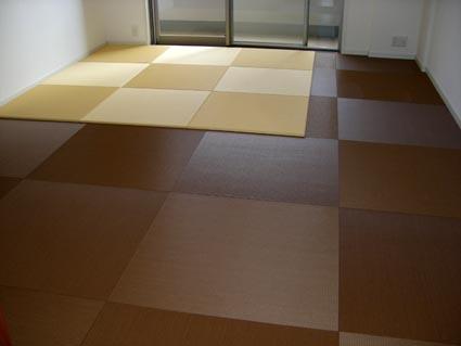 全面畳敷き施工画像1