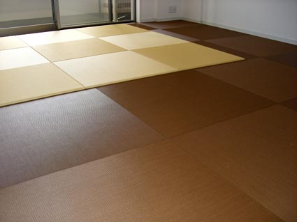 全面畳敷き施工画像2