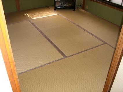 和室の畳替える前画像