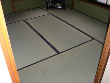 和室の畳替えた後画像