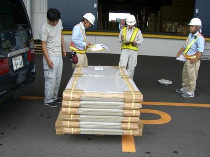サウジアラビアに輸出する畳画像2