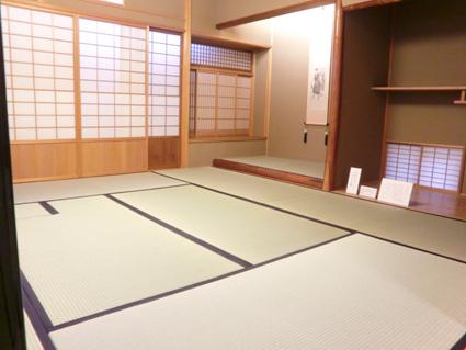 山口誓子記念館の畳画像2