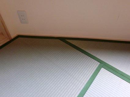 三角形の畳2