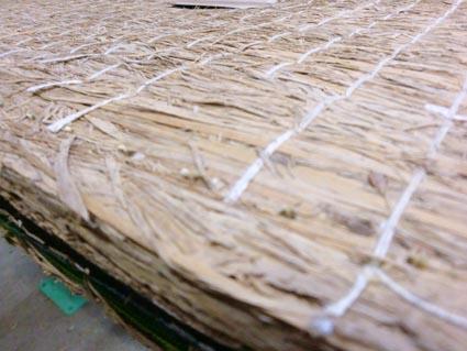 稲わら畳床の補修画像1