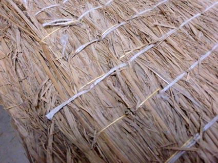 稲わら畳床の補修画像2