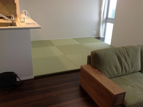 タワーマンションに琉球畳画像