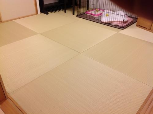 東レ敷楽琉球畳施工画像