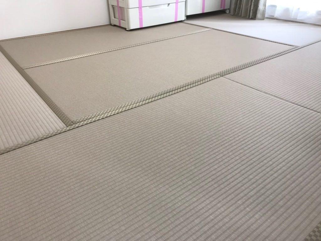 和紙畳「灰桜色」